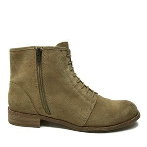SPLENDID Tan Leather Ankle Boots 6.5